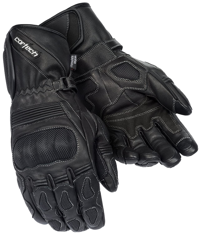 Cortech Men's Scarab 2.0 Winter Motorcycle Gloves (Black, Large) 8352-0205-06
