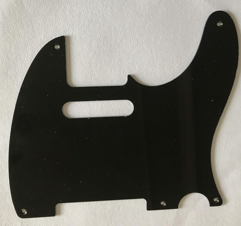1 Ply Black For 5-Hole Fender Esquire Telecaster Guitar Pickguard ...