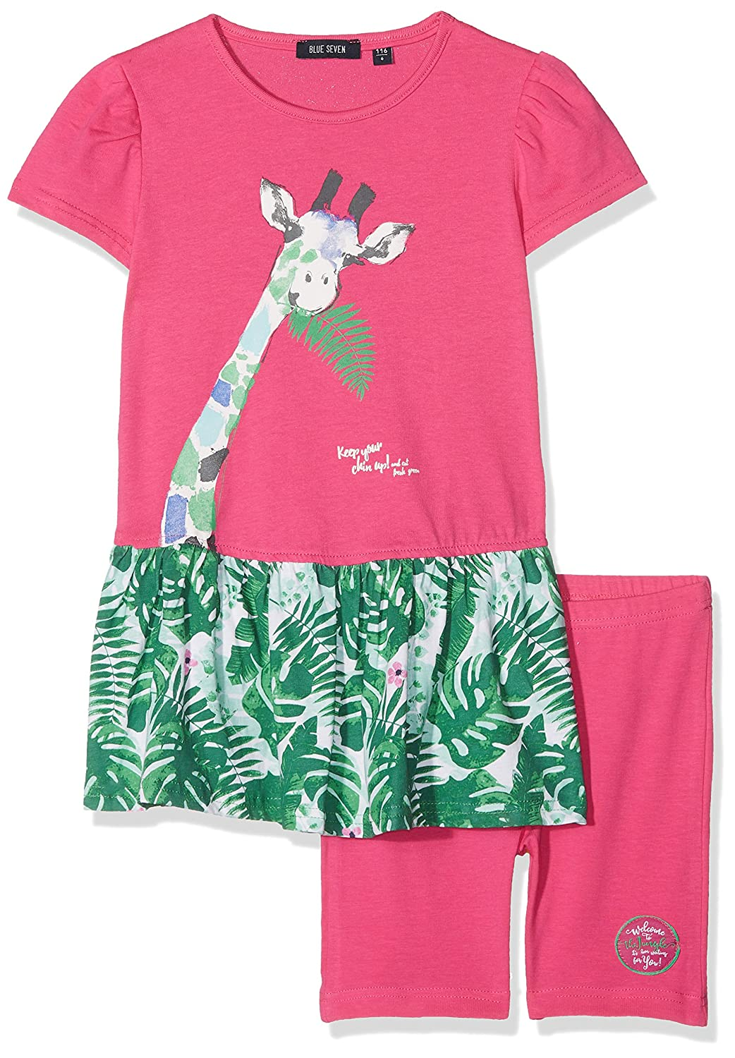 Blue Seven Girl's Tunikabiker Clothing Set 727015 X