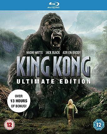 King Kong Ultimate Edition Blu Ray Amazon Co Uk Naomi