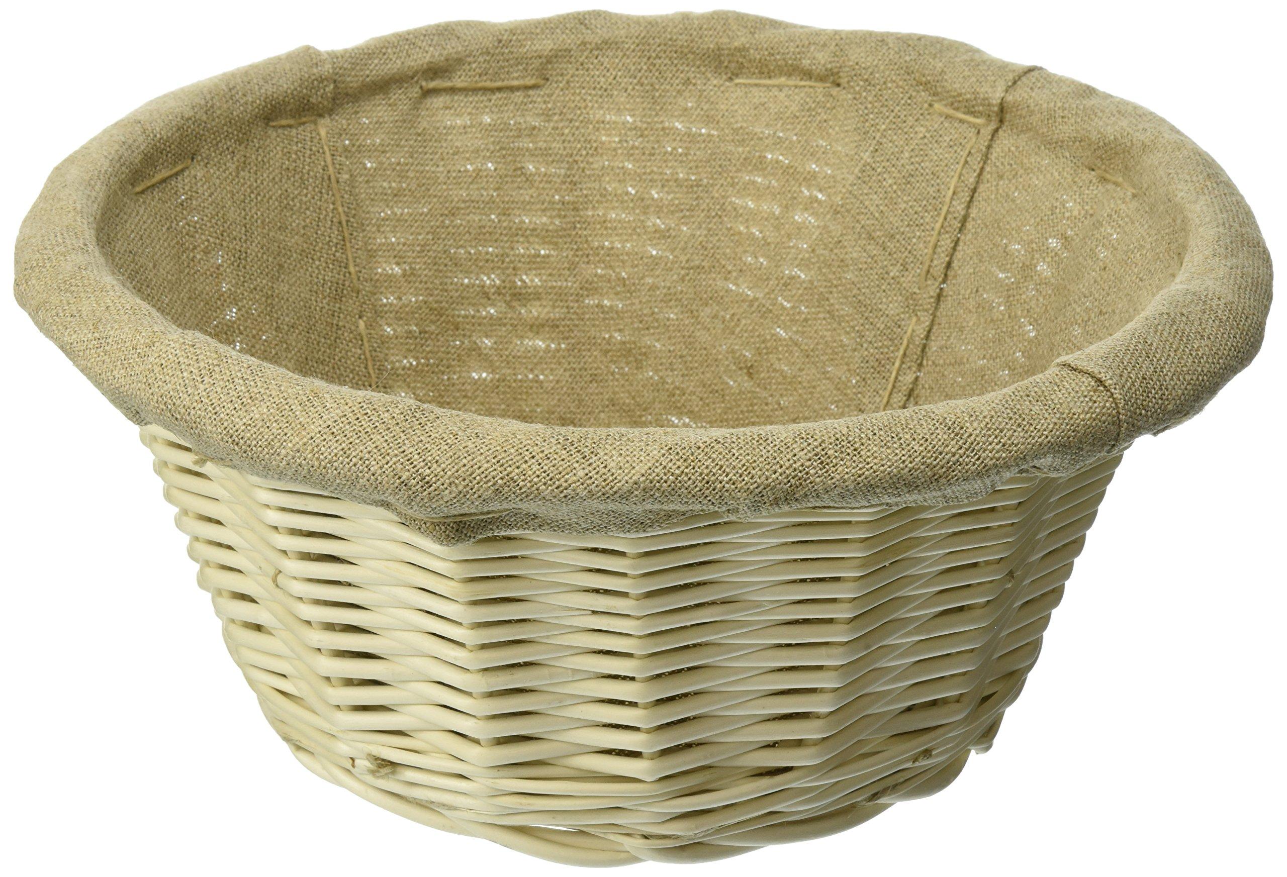 Matfer 9 1/2 Inch Banneton Line Lined Basket