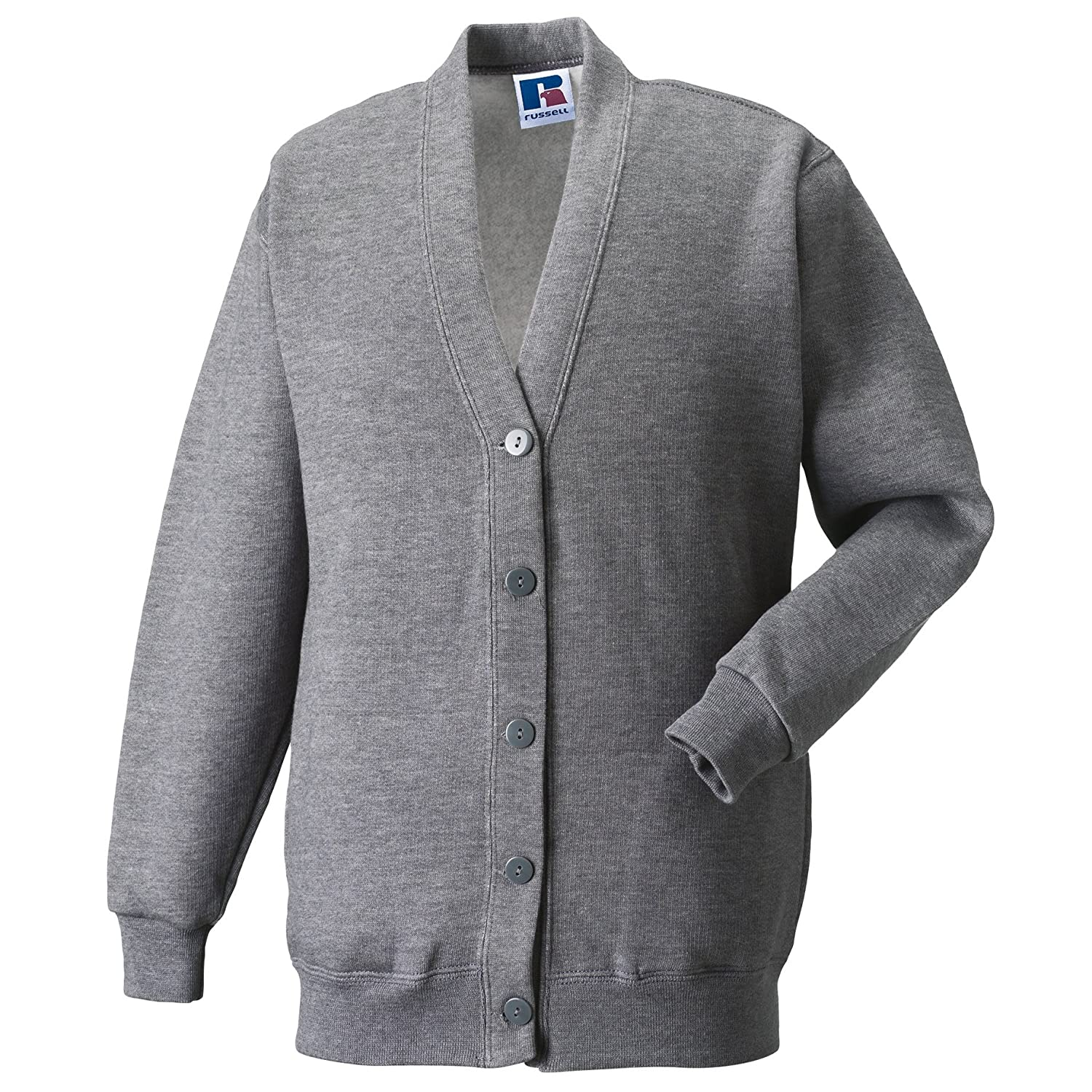 Jerzees Schoolgear Childrens Fleece Cardigan Jerzees Schoolwear