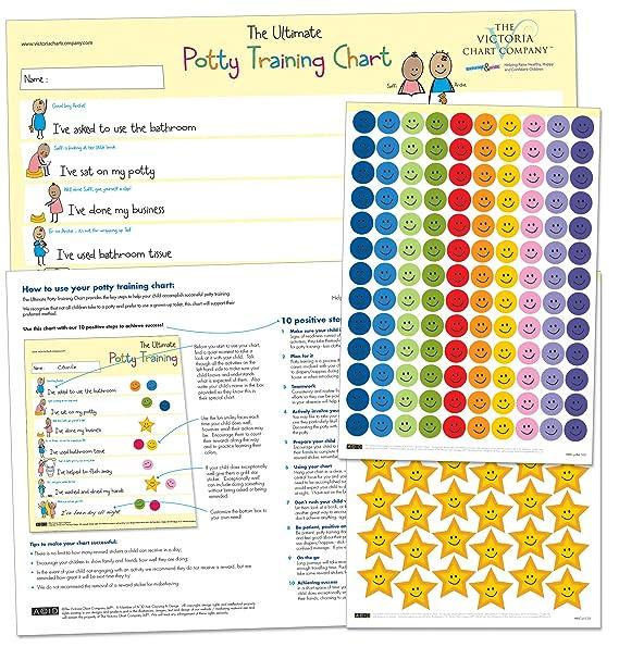The Ultimate Potty Training Reward Chart: Amazon.ca: Baby