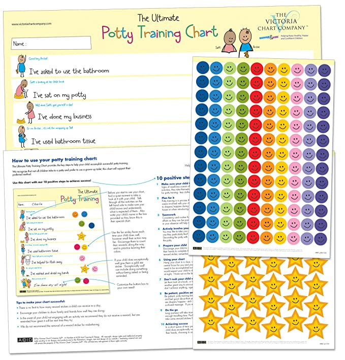 the ultimate potty training reward chart for 2 yrs motivate toilet training award winning positive reinforcement 420 x 297mm amazoncouk baby