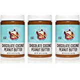 Wild Friends Foods Chocolate Coconut Peanut Butter 16 oz, Pack of 3