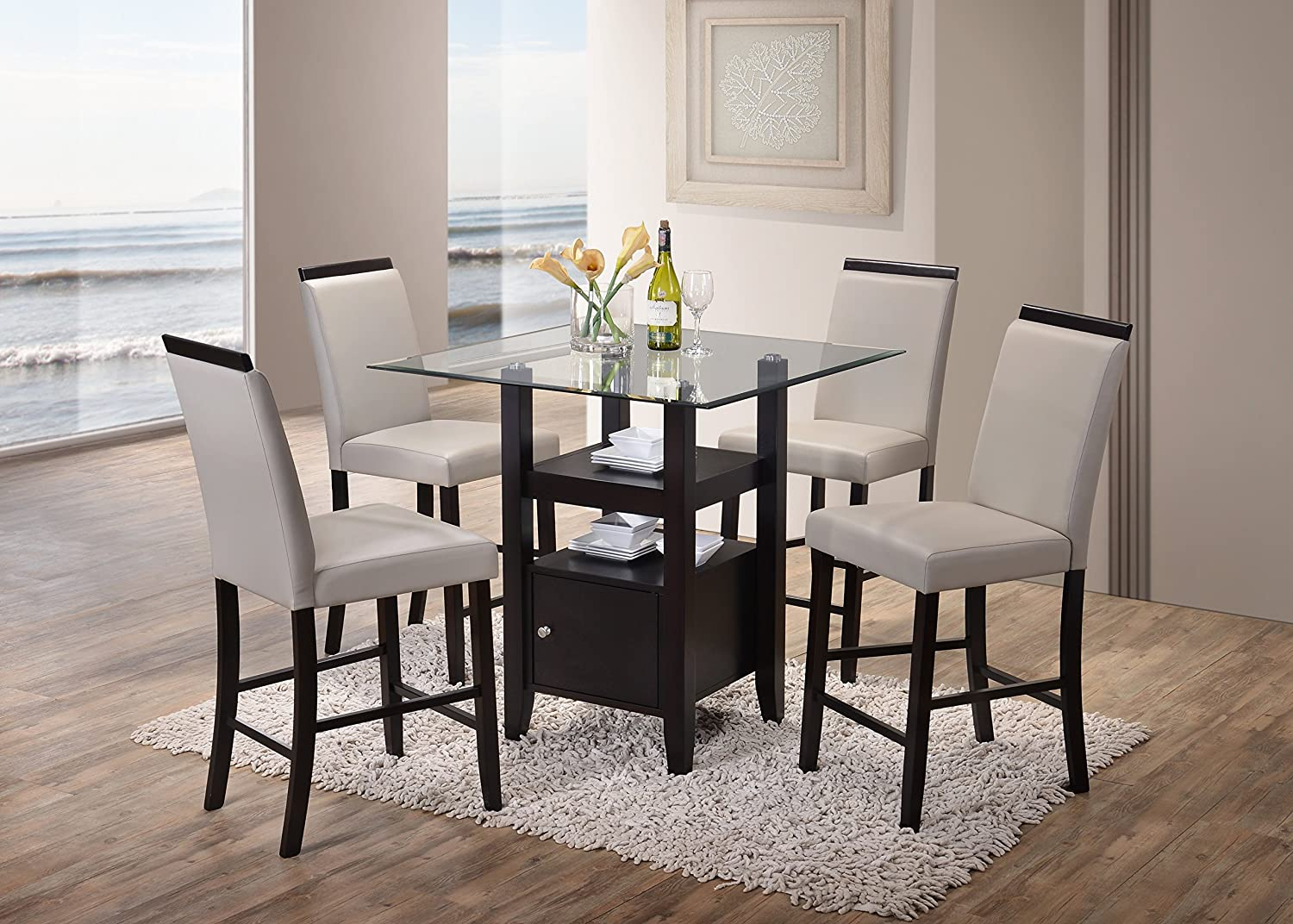 Set of 2 Heavy Duty Solid Wood Dining Room Maple Kitchen Side Chairs Kings Brand Furniture