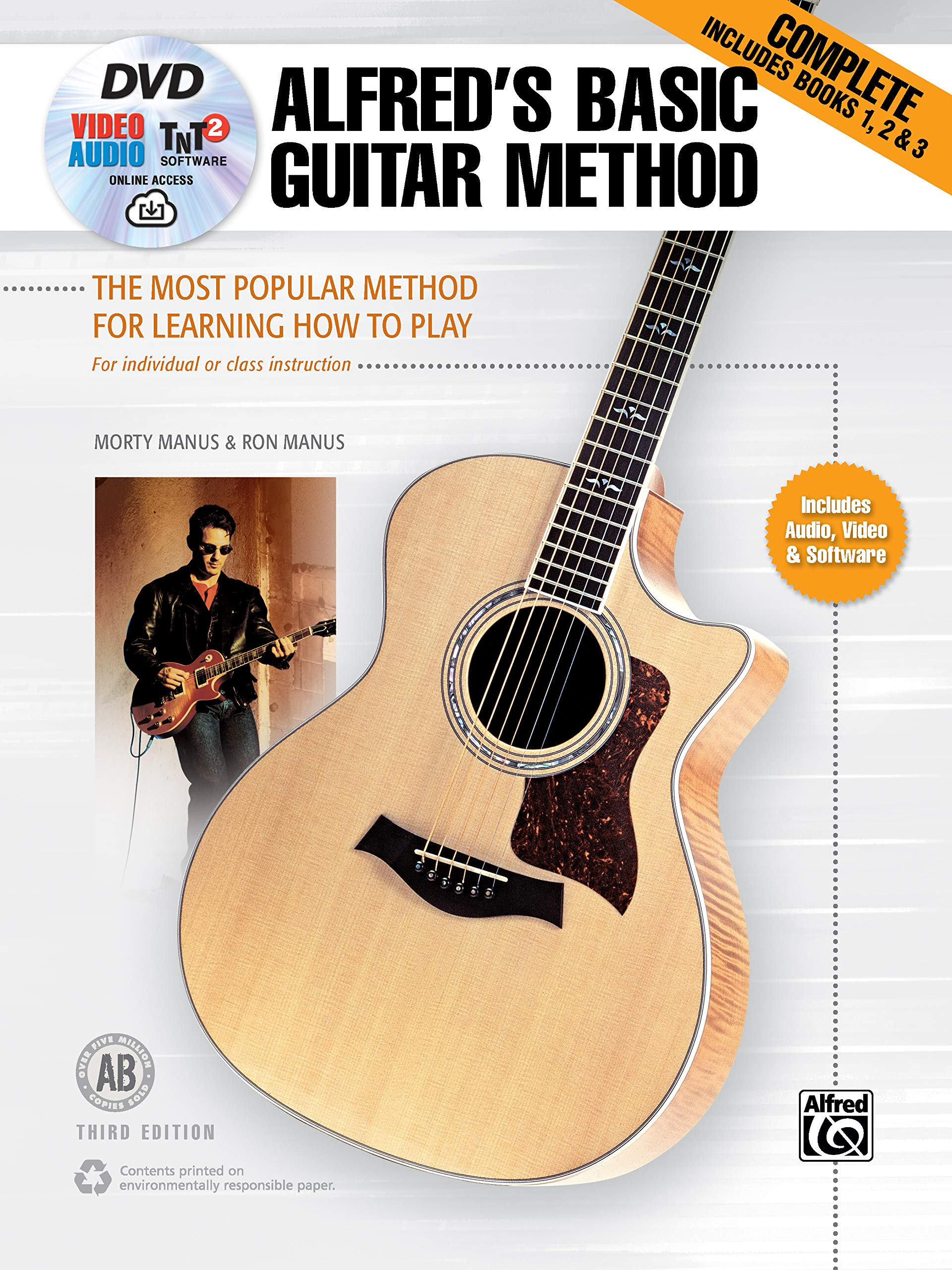 Alfred/'s Basic Guitar Method 6 The Most Popular Method for Learning How to Play