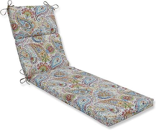 Pillow Perfect Outdoor Indoor Gilford Festival Floor Pillow, 72.5 x 21 , Blue