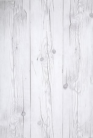 Papier Peint Mural Autocollant Bois Blanchi Vintage 50 Cm X 3 M