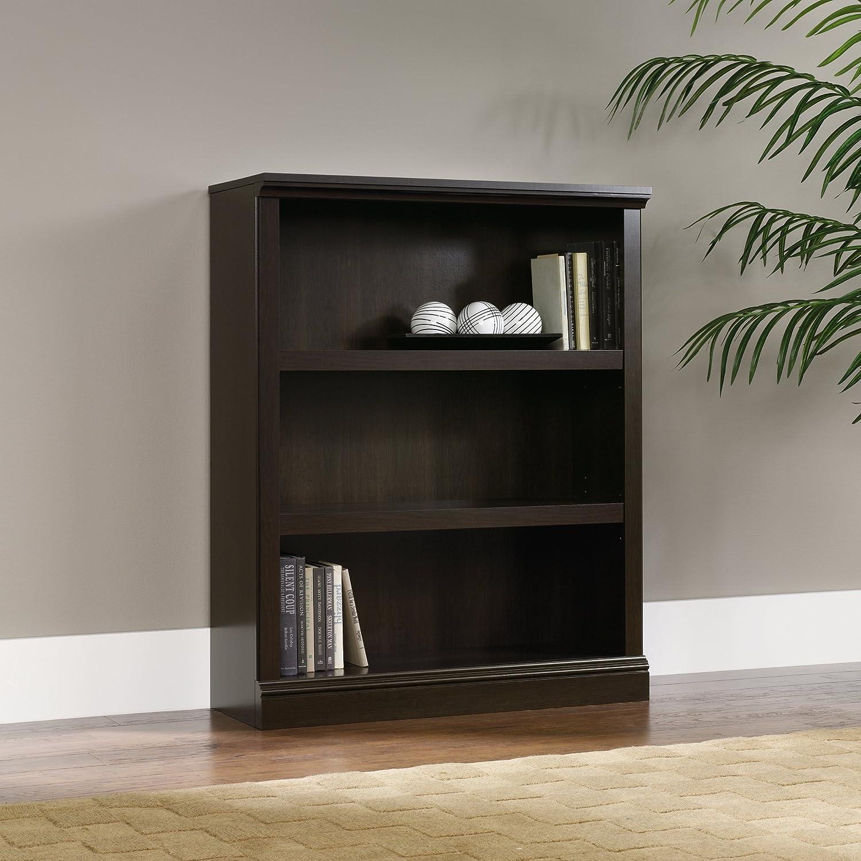 Amazon.com: Sauder 3-Shelf Bookcase, Cinnamon Cherry Finish: Kitchen &  Dining - Amazon.com: Sauder 3-Shelf Bookcase, Cinnamon Cherry Finish
