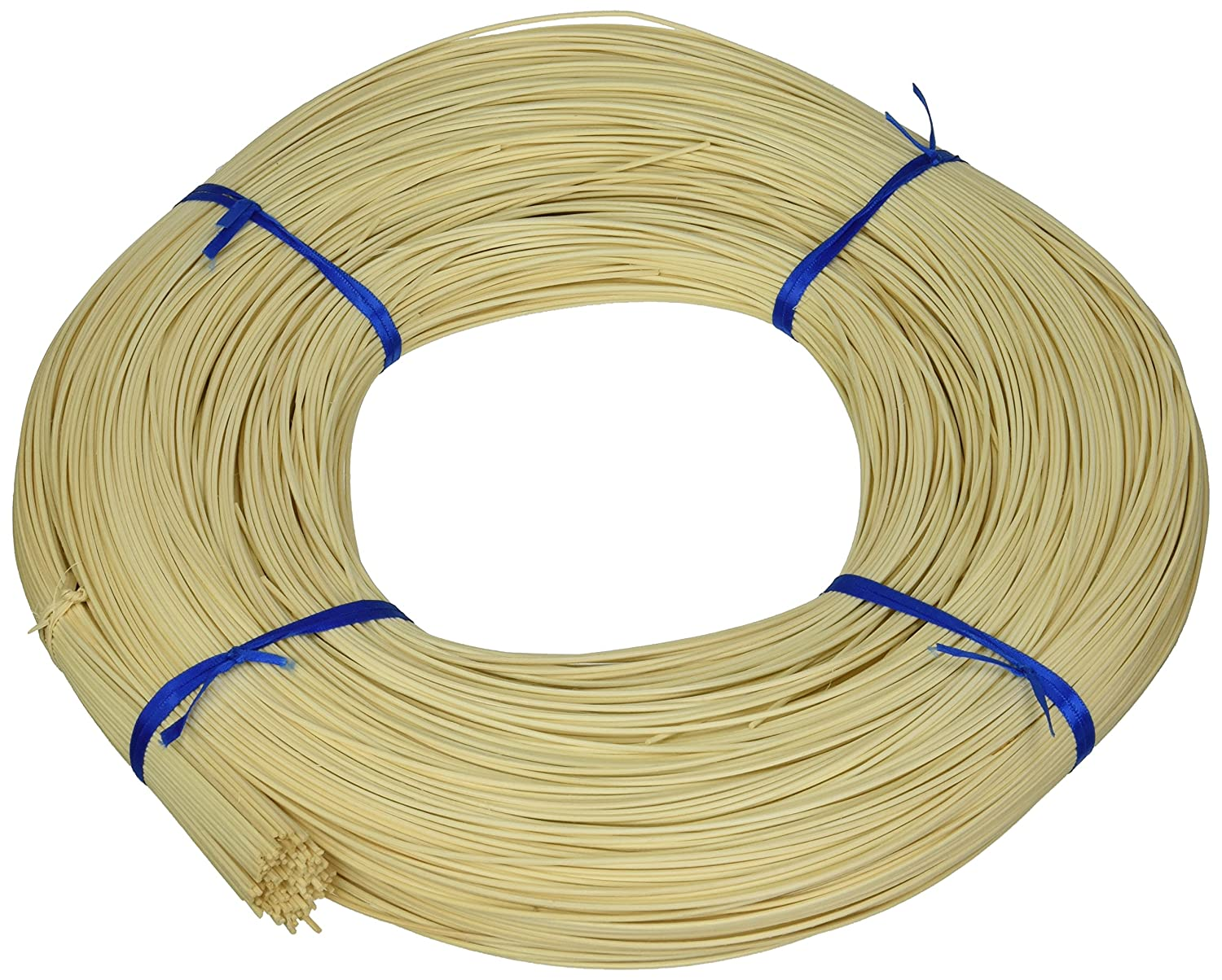 Commonwealth Basket Round Reed #1 1-1/2mm 1-Pound Coil, Approximately, 1600-Feet 1RR