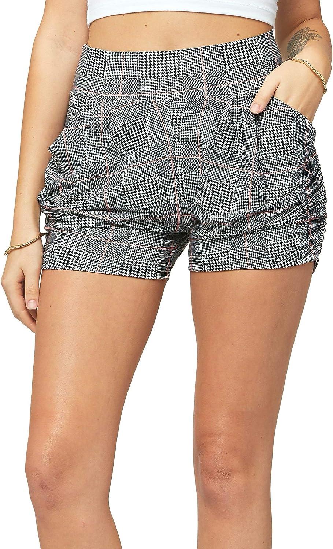 Conceited Premium Ultra Soft Harem Shorts Pockets 40 Trending Prints