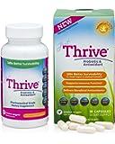 Just Thrive High Potency Probiotic & Antioxidant Supplement, 30 Capsules :: 4 Strains: Bacillus Indicus, Coagulans, Clausii, & Subtilis :: Digestive & Immune Support :: Vegan :: GMO & Gluten Free