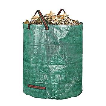 Manteles individuales de 72 litros bolsa para jardín de jardinería Bolsas | hoja de césped piscina
