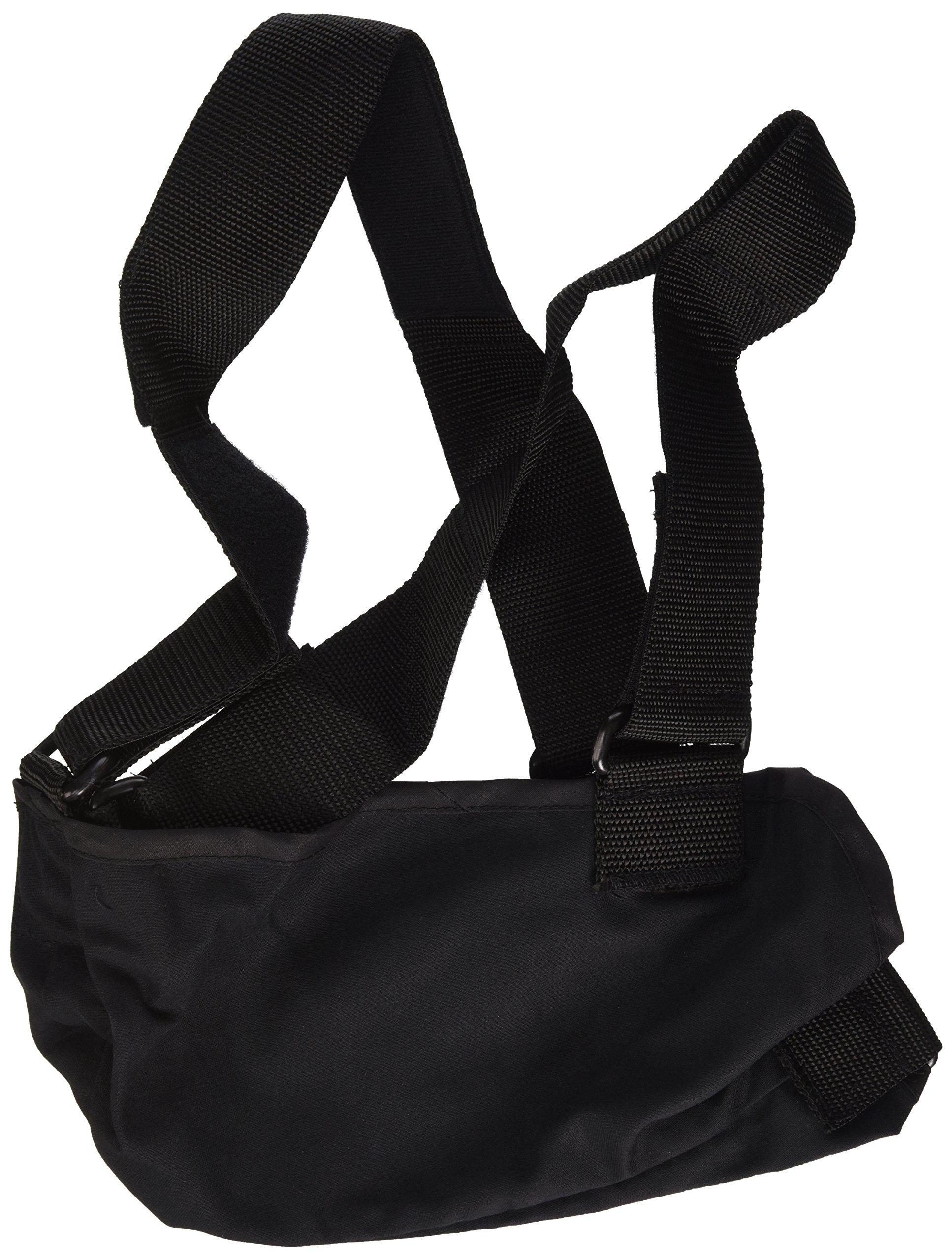 Bilt-Rite Mastex Health Arm Sling with Immobilizing Strap, Black , Small