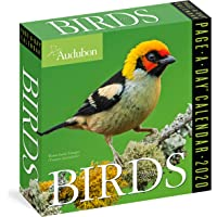 Audubon Birds Colour Page-A-Day Calendar 2020