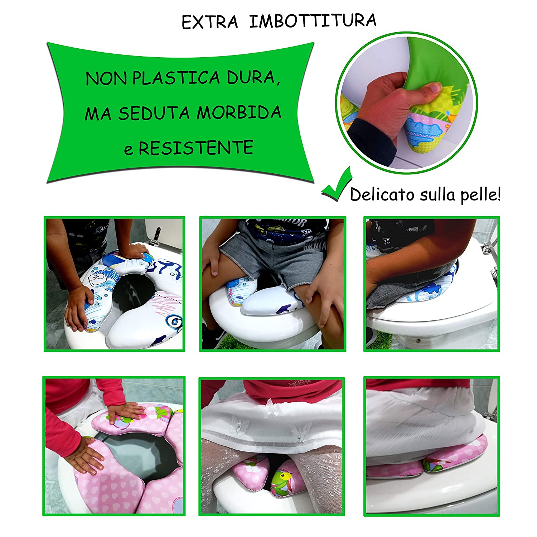 Orinales Para Ni/ños Orinal Infantil Plegable Y Portatil Reductor Wc Ni/ños Morboso