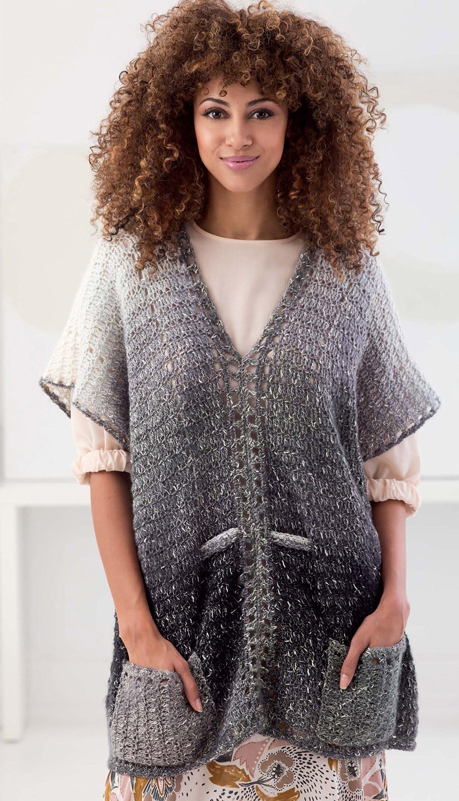 Shawls and Vests | Crochet | Leisure Arts (75607): Lion Brand Yarn:  9781464765834: Amazon.com: Books