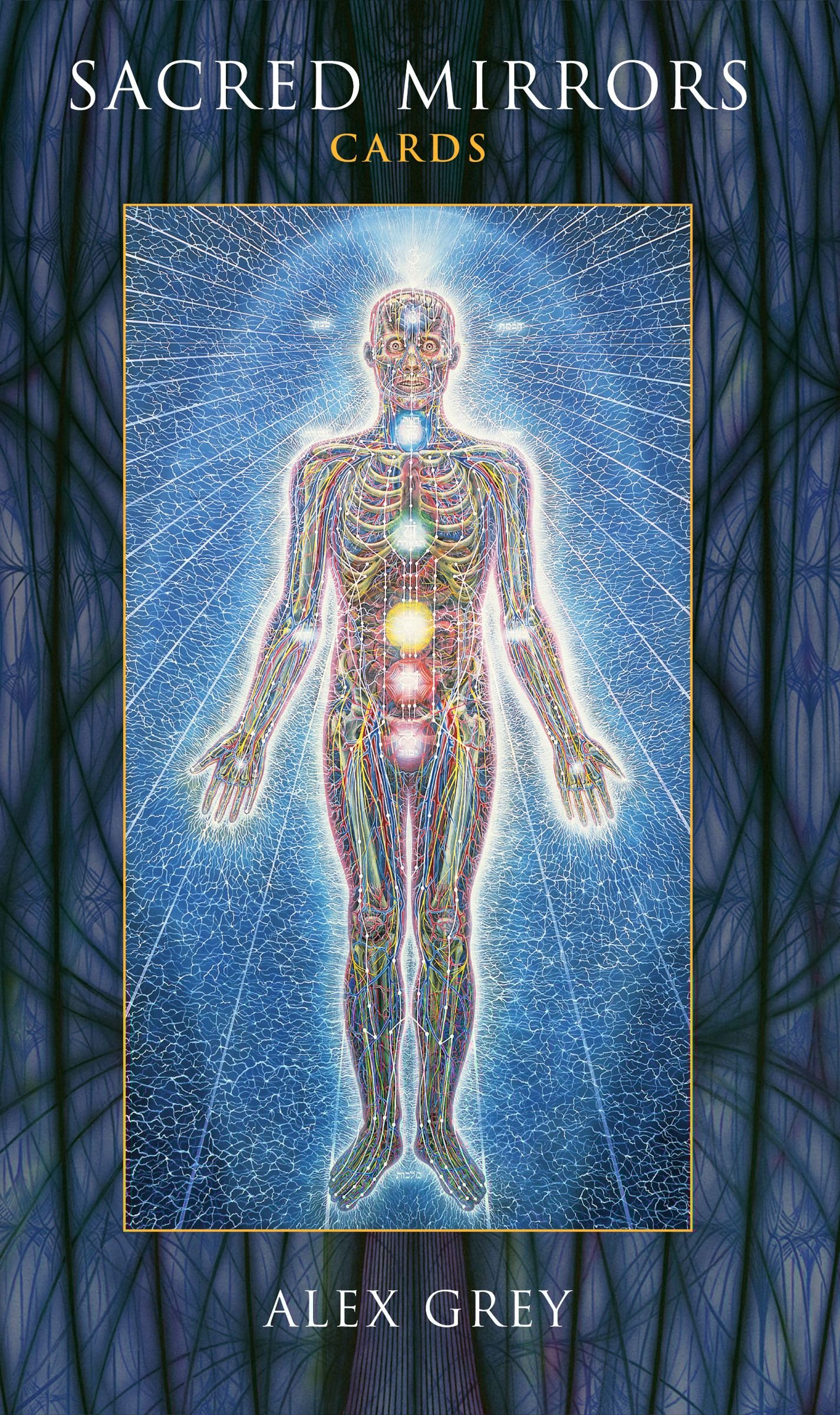 Sacred Mirrors Cards Alex Grey 9781594771620 Amazon Books
