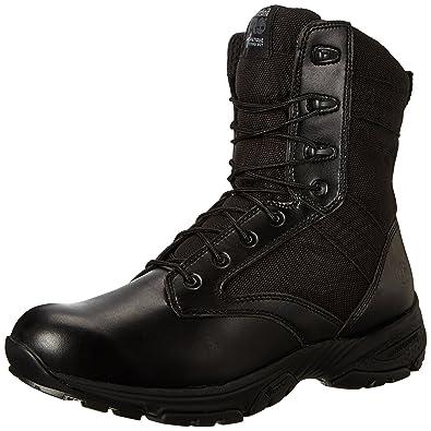 d814d5131ec9 Timberland PRO Men s 8 Inch Valor Soft Toe Black Duty Boot