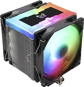 Scythe Mugen 5 Addressable RGB Plus Air CPU Cooler, 120mm Single Tower, Intel LGA1151, AMD AM4/Ryzen, Controller Included