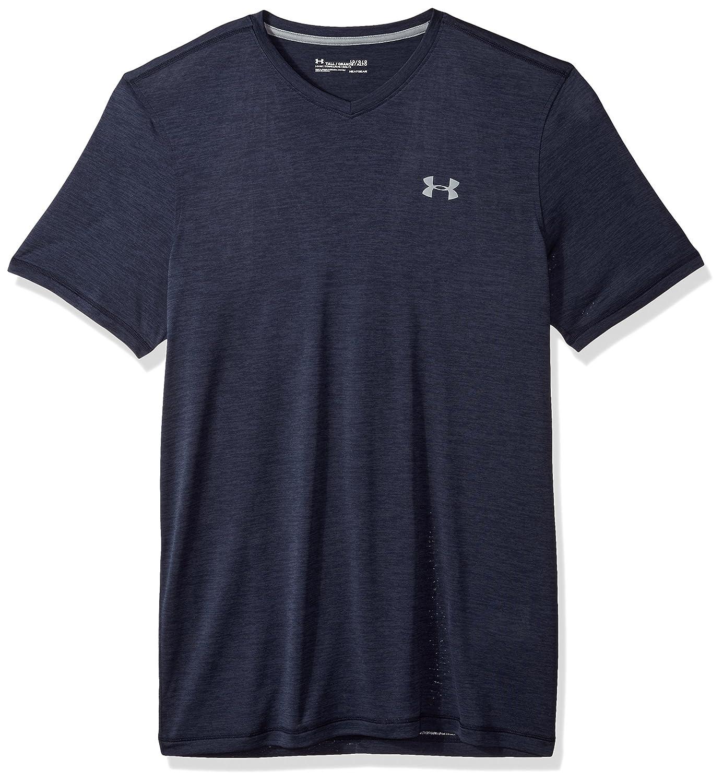 (アンダーアーマー)Under Armour メンズ テック VネックTシャツ B00KWK1JQW X-Large|ミッドナイト ネイビー/スチール ミッドナイト ネイビー/スチール X-Large