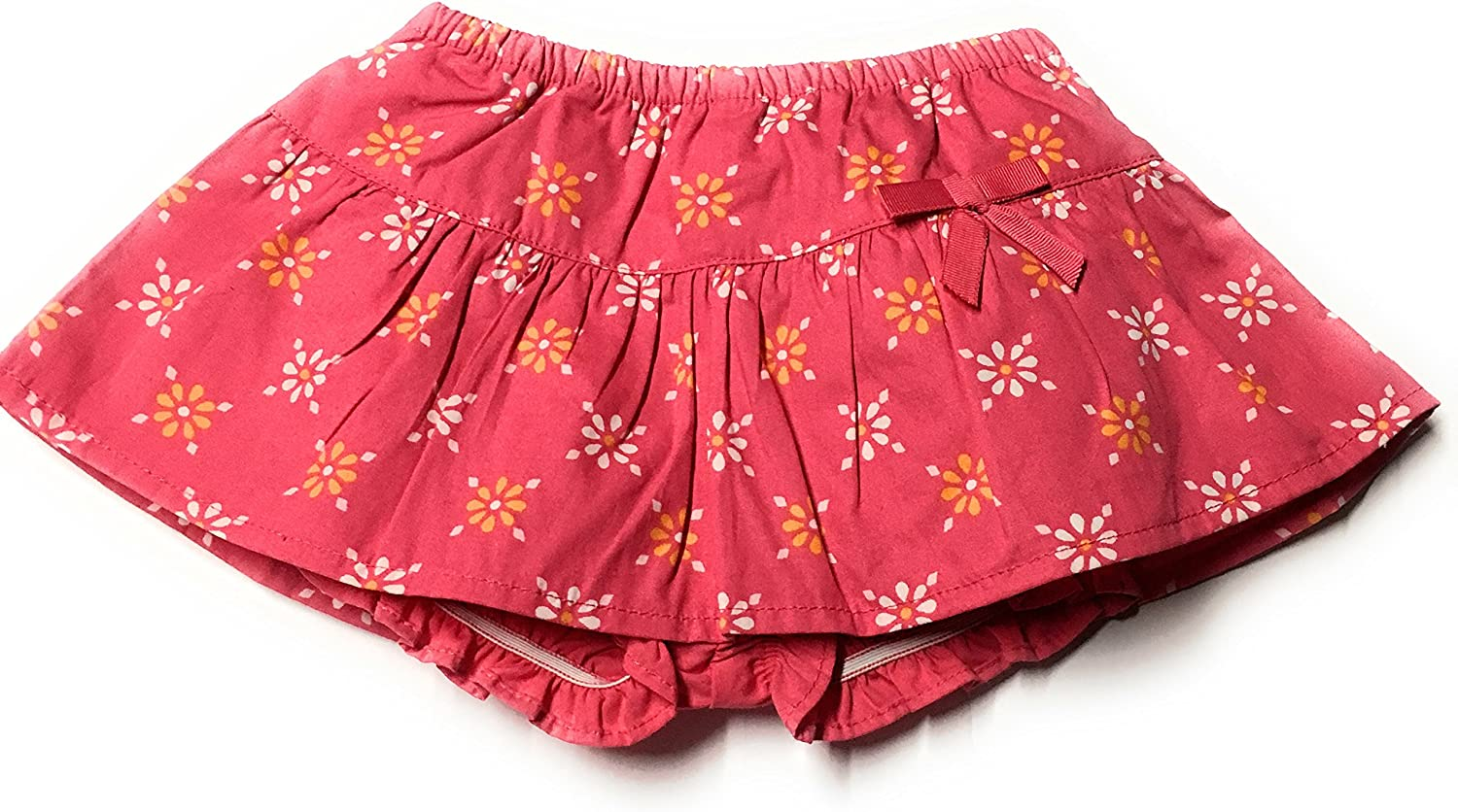 0-3 Months Gymboree Baby Girls Pink Floral Skirt and Bloomer