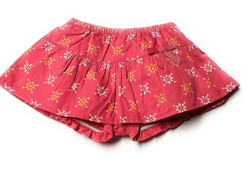 Gymboreeベビー女の子ピンク花柄スカートand Bloomer0 – 3か月   B06ZYDRM84