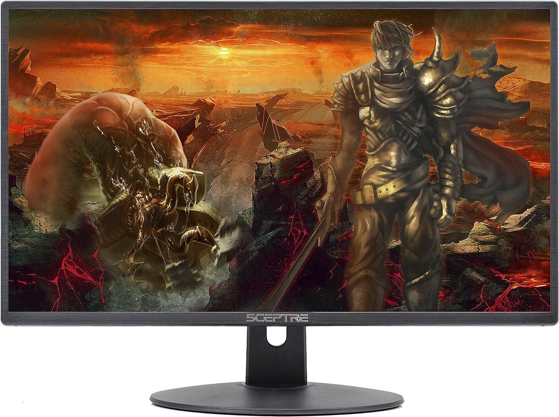 "Sceptre E225W-19203R 22/"" Ultra Thin 75Hz Full HD 1080p LED Monitor HDMI VGA Buil"