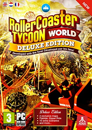 Amazon com: Rollercoaster Tycoon World Deluxe Edition (PC