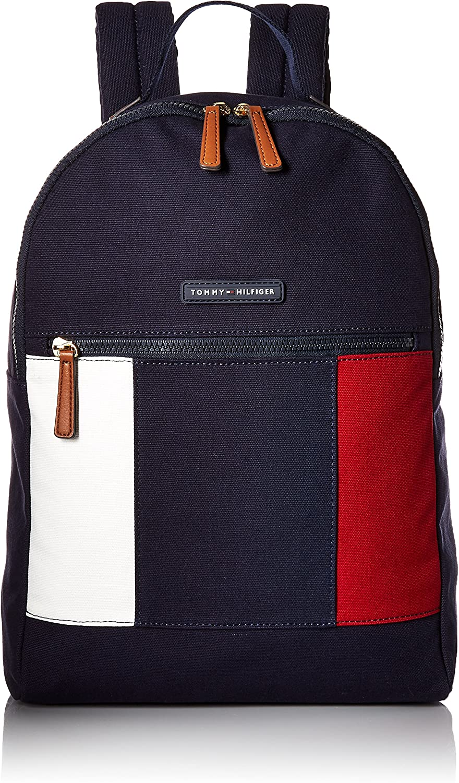 Tommy Hilfiger Backpack for Women Flag Canvas