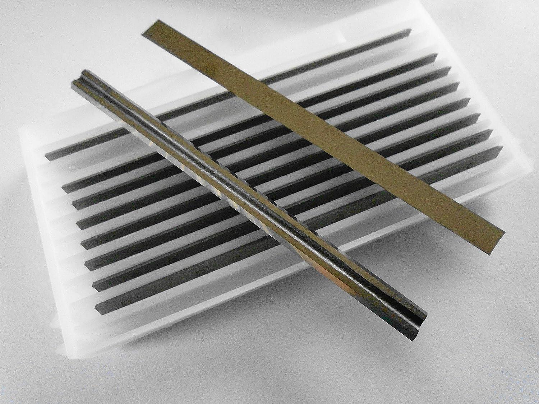 10 fers réversibles carbure pour rabot électrique 82 mm Qualité PRO Allemagne