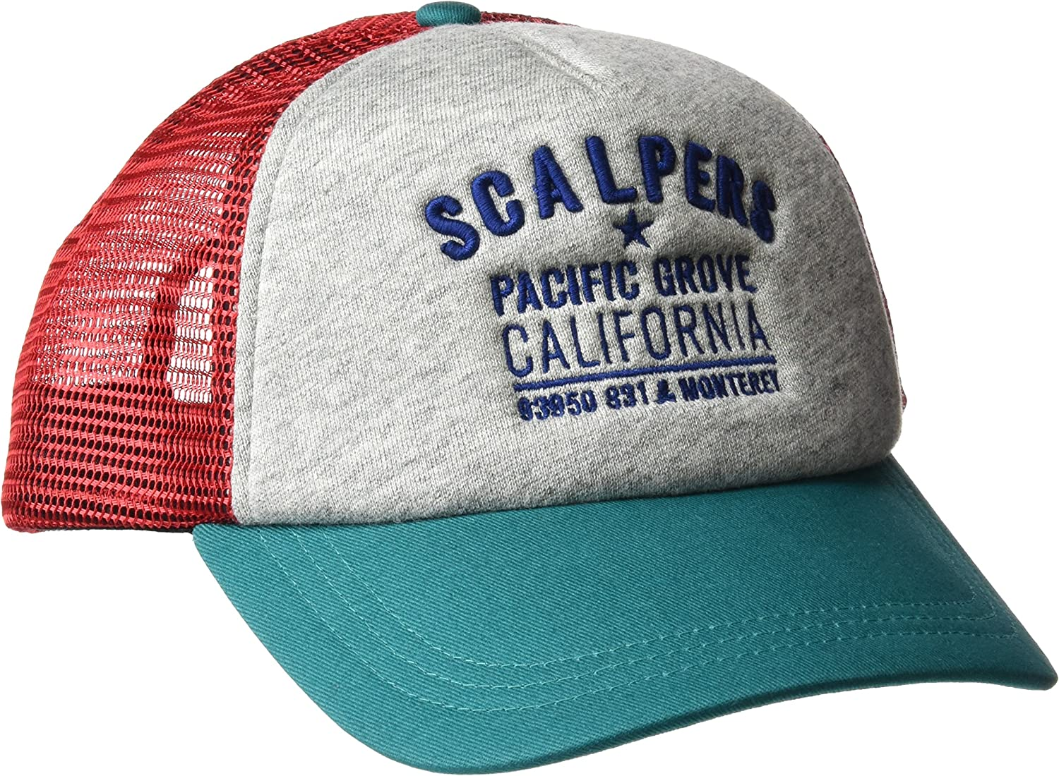 Scalpers Pacific Grove Trucker Cap GORRA, Grey, UNICA para Hombre ...