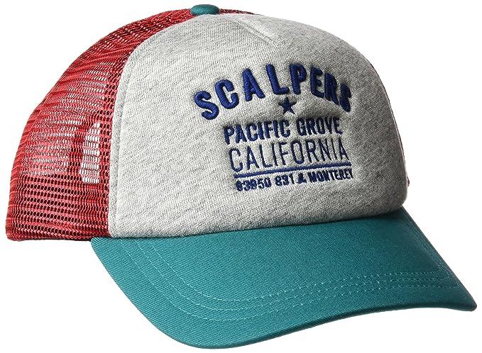 Scalpers Pacific Grove Trucker Cap, GORRA para Hombre, GREY UNICA: Amazon.es: Ropa y accesorios