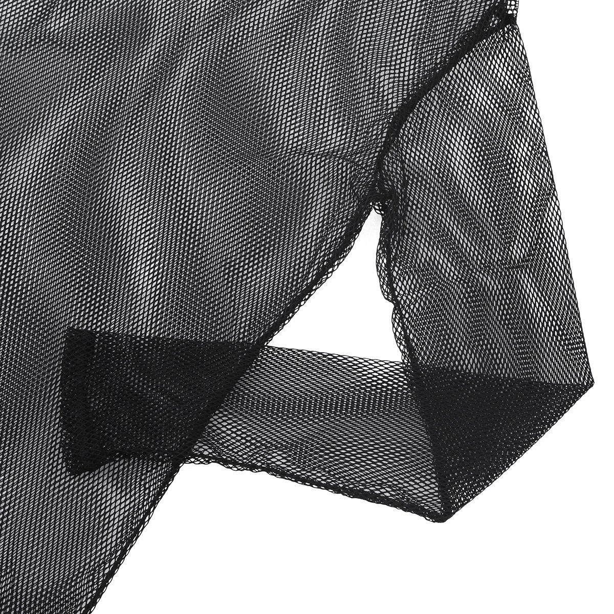 12d9d9ebf29219 CHICTRY Men s Cotton String Mesh Fishnet Long Sleeve T-Shirt Hoodie Blouse  Top  Amazon.co.uk  Clothing
