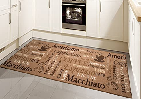 teppich modern flachgewebe gel läufer küchenteppich küchenläufer