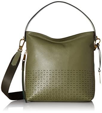 d38a4e7414 Amazon.com  Fossil Maya Small HOBO Handbag