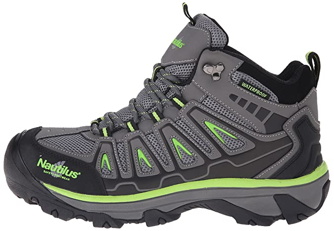 e17d5a88c1f Nautilus 2202 Light Weight Mid Waterproof Safety Toe EH Hiking Shoe