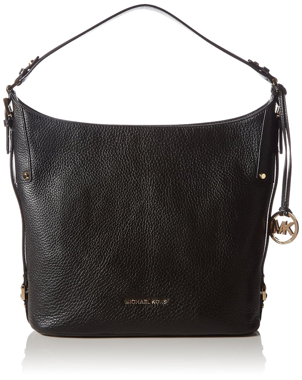 MICHAEL Michael Kors Bedford Belted Large Shoulder Bag (Black): Handbags:  Amazon.com