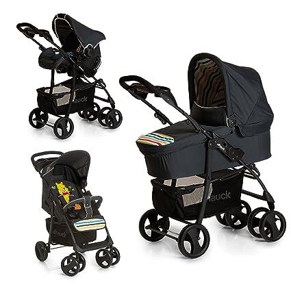 Hauck carro Shopper SLX trioset Disney, coche de bebes 3 piezas de capazo, sillita