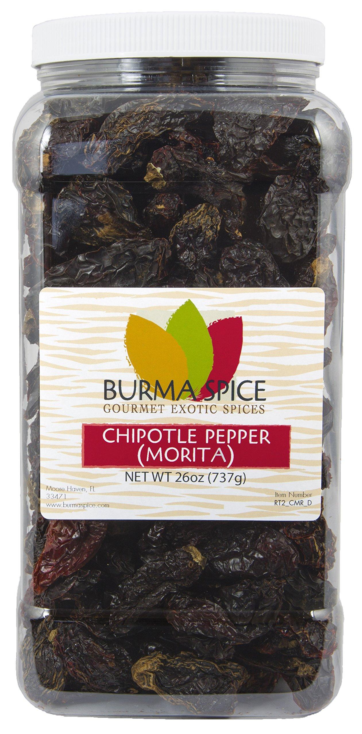 Dried Morita Chipotle Pepper Smokey Flavor Chile Kosher (26oz.)