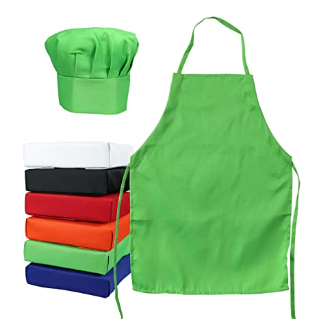 where can i buy buy online classic styles ObviousChef Kids - Child's Chef Hat Apron Set, Kid's Size, Children's  Kitchen Cooking and Baking Wear Kit for those Chefs in Training (S 2-5  Year, ...