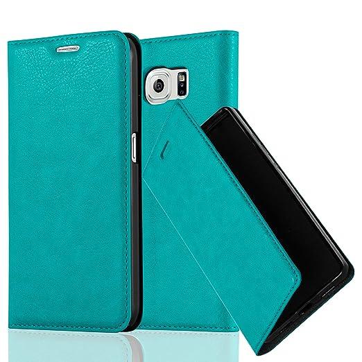 6 opinioni per Cadorabo- Custodia Book Style per Samsung Galaxy S6 (G920F- NON per EDGE) Design