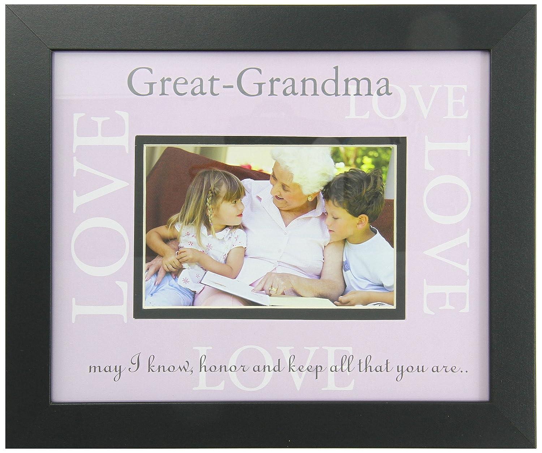 Amazon.com : The Grandparent Gift Co. Great-Grandma Love Frame ...