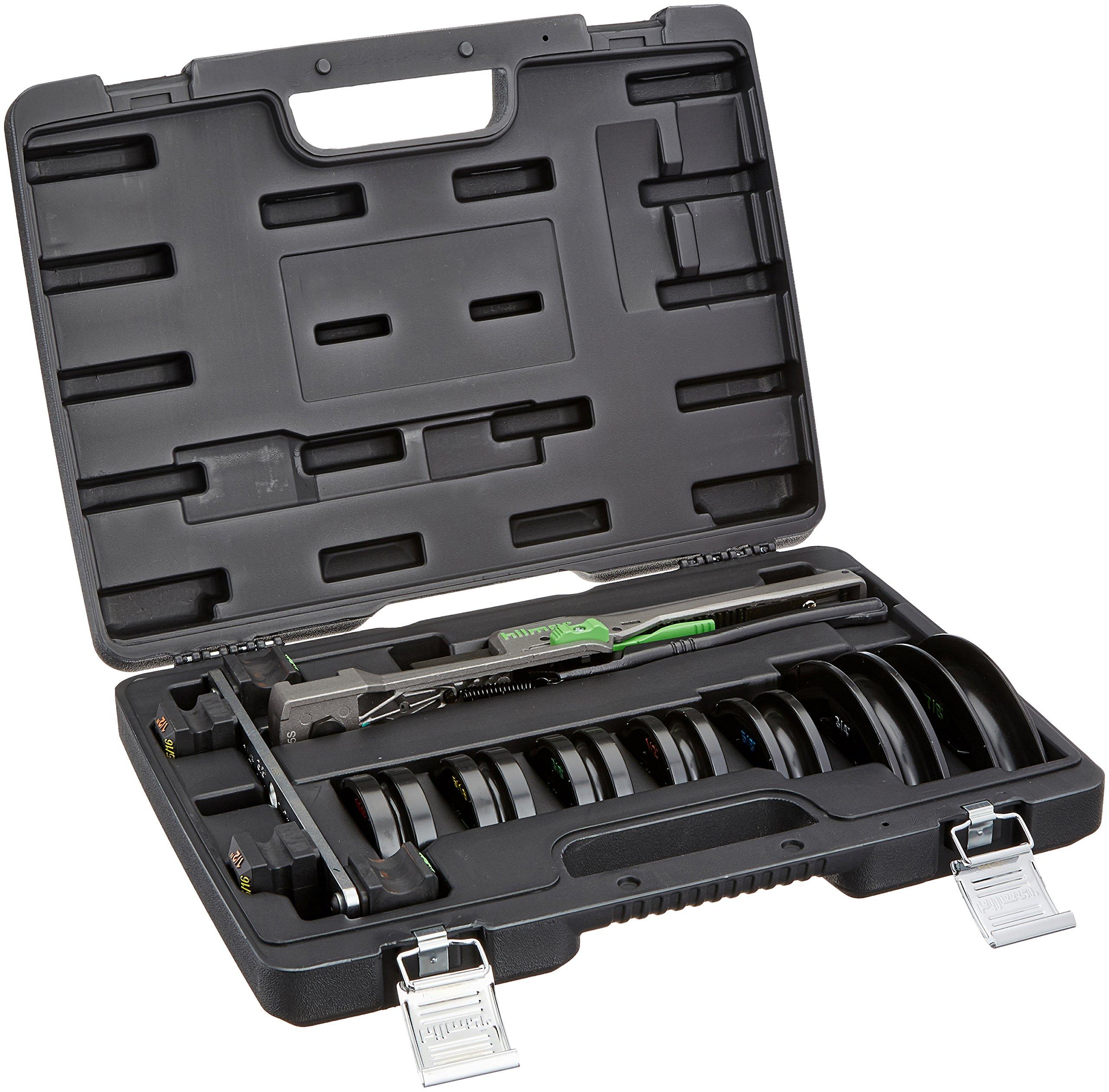 hilmor 1839032 CBK Compact Bender Kit, 1/4'' to 7/8''
