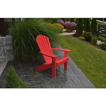 A & L muebles empresa plástico reciclado fanback Adirondack silla