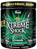 ANSI Xtreme Shock N.O. Powder One scoop pre workout. Watermelon
