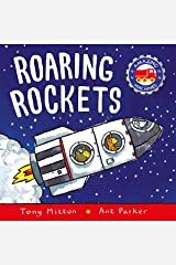 Amazing Machines: Roaring Rockets Board book
