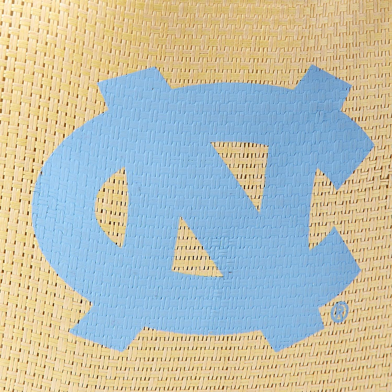 One Size FOCO NCAA North Carolina Tar Heels Straw Beach Tote Blue