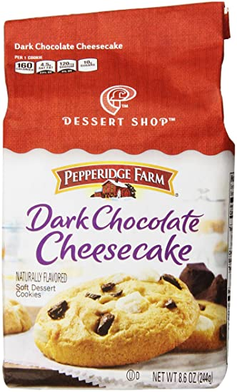 Pepperidge Farm - Galletas de chocolate y tarta de queso